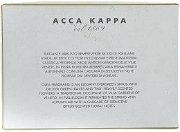 Parfümierte Körperseife mit süßer Olivenblüte - Acca Kappa Olea Fragrans — Bild N3