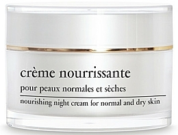 Düfte, Parfümerie und Kosmetik Pflegende Nachtcreme für normale und trockene Haut - Yellow Rose Creme Nourrissante