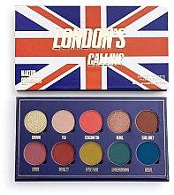 Düfte, Parfümerie und Kosmetik Lidschattenpalette - Makeup Obsession London's Calling Eyeshadow Palette