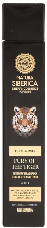 "2in1Shampoo und Duschgel ""Fury of the Tiger"" - Natura Siberica — Bild N1"