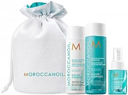 Düfte, Parfümerie und Kosmetik Haarpflegeset - Moroccanoil Color Complete (Shampoo 250ml + Haarspülung 250ml + Haarspray 50ml)