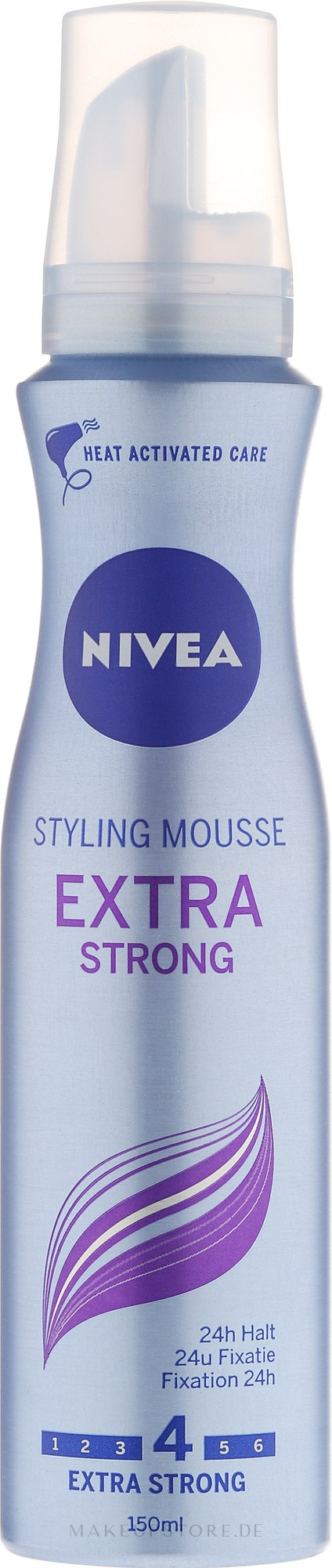Haarmousse Extra starker Halt - Nivea Extra Strong Styling Mousse — Bild 150 ml