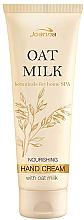 Düfte, Parfümerie und Kosmetik Pflegende Handcreme - Joanna Botanicals Oat Milk Hand Cream
