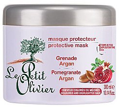 Düfte, Parfümerie und Kosmetik Haarmaske für coloriertes Haar - Le Petit Olivier Pomegranate Argan Hair Mask