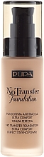 Düfte, Parfümerie und Kosmetik Foundation LSF 15 - Pupa No Transfer Foundation