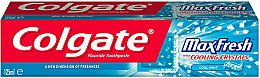 Zahnpasta Max Fresh With Cooling Crystals - Colgate Max Fresh With Cooling Crystals Cool Mint — Bild N3
