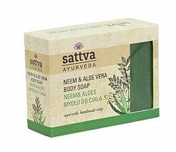 Düfte, Parfümerie und Kosmetik Parfümierte Körperseife - Sattva Hand Made Soap Aloe Vera