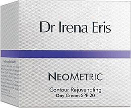 Düfte, Parfümerie und Kosmetik Verjüngende Tagescreme für das Gesicht - Dr Irena Eris Neometric Contour Rejuvenating Day Cream SPF 20