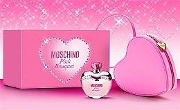 Moschino Pink Bouquet - Duftset (Eau de Toilette 100ml+rosa Herztasche) — Bild N3