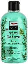 Düfte, Parfümerie und Kosmetik Duschgel - Aquolina Vivi Natura Pure Soft Musk Bath Shower Gel