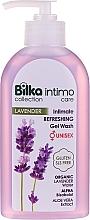 Düfte, Parfümerie und Kosmetik Erfrischendes Gel für Intimhygiene mit Lavendelwasser - Bilka Intimate Refreshing Lavender Gel Wash