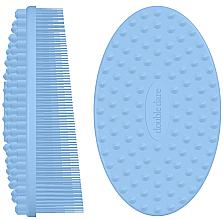 Düfte, Parfümerie und Kosmetik Massagebürste für das Gesicht aus Silikon hellblau - Double Dare I.M. Buddy Pastel Blue