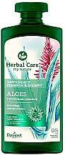 Düfte, Parfümerie und Kosmetik Nährendes Shampoo für trockenes Haar - Farmona Herbal Care Aloe Vera Family Shampoo