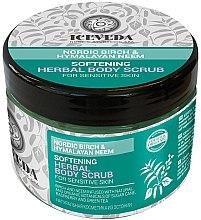 Düfte, Parfümerie und Kosmetik Glättendes Körperpeeling - Natura Siberica Iceveda Nordic Birch&Hymalayan Neem Softening Herbal Body Scrub
