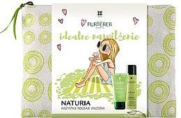 Düfte, Parfümerie und Kosmetik Haarpflegeset - Rene Furterer Naturia (Shampoo 50ml + Trockenshampoo 75ml + Kosmetiktasche)