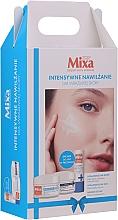 Düfte, Parfümerie und Kosmetik Gesichtspflegeset - Mixa Hyalurogel Gift Set (Creme-Gel 50ml + Nachtcrememaske 50ml + Lippenbalsam 4.7ml)