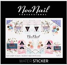 Düfte, Parfümerie und Kosmetik Nagelstickers - NeoNail Professional Water Sticker