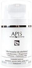 Düfte, Parfümerie und Kosmetik Fruchtsäurepeeling für Gesicht - APIS Professional Lacticion + Pirogron + Milk + Azelaine 40%