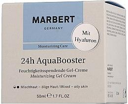 Düfte, Parfümerie und Kosmetik Feuchtigkeitsspendende Gel-Creme mit Hyaluron - Marbert 24h Aquabooster Moisturizing Gel Cream Combination Skin-Oily Skin