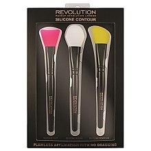 Düfte, Parfümerie und Kosmetik Konturierpinsel-Set - Makeup Revolution Silicone Contour Brush Set