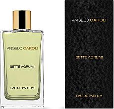 Düfte, Parfümerie und Kosmetik Angelo Caroli Sette Agrumi - Eau de Parfum