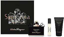 Düfte, Parfümerie und Kosmetik Salvatore Ferragamo Signorina Misteriosa - Duftset (Eau de Parfum 100ml + Körperlotion 50ml + Eau de Parfum 10ml)