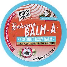 Düfte, Parfümerie und Kosmetik Körperbalsam mit Kokosnuss - Dirty Works Bahama Balm-A Coconut Body Balm