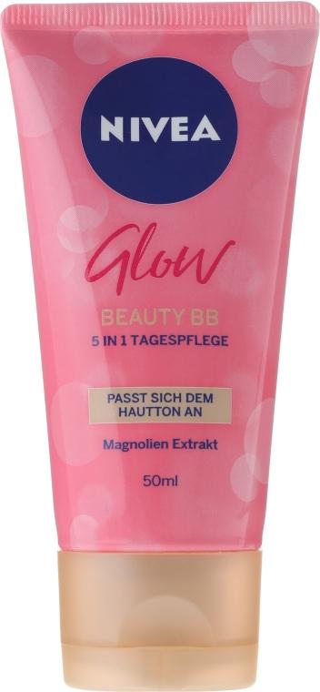 5in1 Multifunktionale BB Tagespflege mit Magnolien-Extrakt - Nivea Glow Beauty BB 5-in-1 — Bild N1