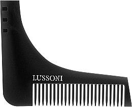 Düfte, Parfümerie und Kosmetik Bartkamm - Lussoni BC 600 Barber Comb