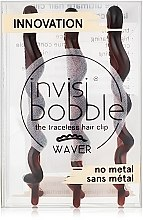Haarspangen braun 3 St. - Invisibobble Waver Pretty Dark — Bild N2