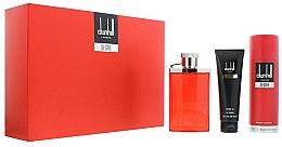 Düfte, Parfümerie und Kosmetik Alfred Dunhill Desire Red - Duftset (Eau de Toilette 100ml + Duschgel 90ml + Deospray 195ml)