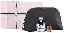 Düfte, Parfümerie und Kosmetik Duftset - Yves Saint Laurent Mon Paris (Eau de Parfum 90ml + Lippenstift 1.6g + Kosmetiktasche)