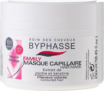 Haarmaske für coloriertes Haar - Byphasse Family Coloured Hair Mask — Bild N1