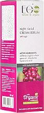 Düfte, Parfümerie und Kosmetik Anti-Aging Creme-Serum mit Koffein und Hyaluronsäure - ECO Laboratorie