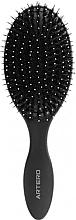 Düfte, Parfümerie und Kosmetik Haarbürste oval - Oval Graphite Artero Black