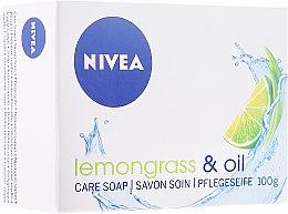 Düfte, Parfümerie und Kosmetik Pflegeseife mit Zitronengras & Öl - Nivea Lemongrass & oil crème soap