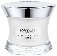 Düfte, Parfümerie und Kosmetik Straffende und lipo-modellierende Nachtcreme - Payot Perform Sculpt Nuit