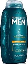 Düfte, Parfümerie und Kosmetik Belebendes Washgel für Körper und Haar - Oriflame North For Men Recharge Hair & Body Wash