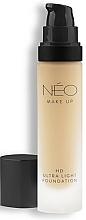 Düfte, Parfümerie und Kosmetik Ultraleichte Foundation - NEO Make Up HD Ultra Light Foundation