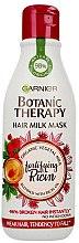 Düfte, Parfümerie und Kosmetik Pflege-Milch Maske für strapaziertes Haar - Garnier Botanic Therapy Hair Milk Mask
