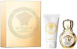 Versace Eros Pour Femme - Duftset (Eau de Parfum 30ml + Körperlotion 50ml) — Bild N1
