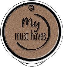 Düfte, Parfümerie und Kosmetik Puder für Augenbrauen - Essence My Must Haves Eyebrow Powder