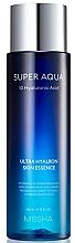 Düfte, Parfümerie und Kosmetik Feuchtigkeitsspendende Gesichtsessenz mit Hyaluronsäure - Missha Super Aqua Ultra Hyalron Skin Essence