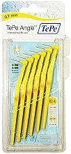 Düfte, Parfümerie und Kosmetik Interdentalbürsten gelb - TePe Interdental Brushes Angle Yellow 0,7mm