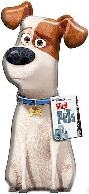 Baby 3D Badeschaum - Corsair The Secret Life Of Pets 3D Max Bubble Bath — Bild N1