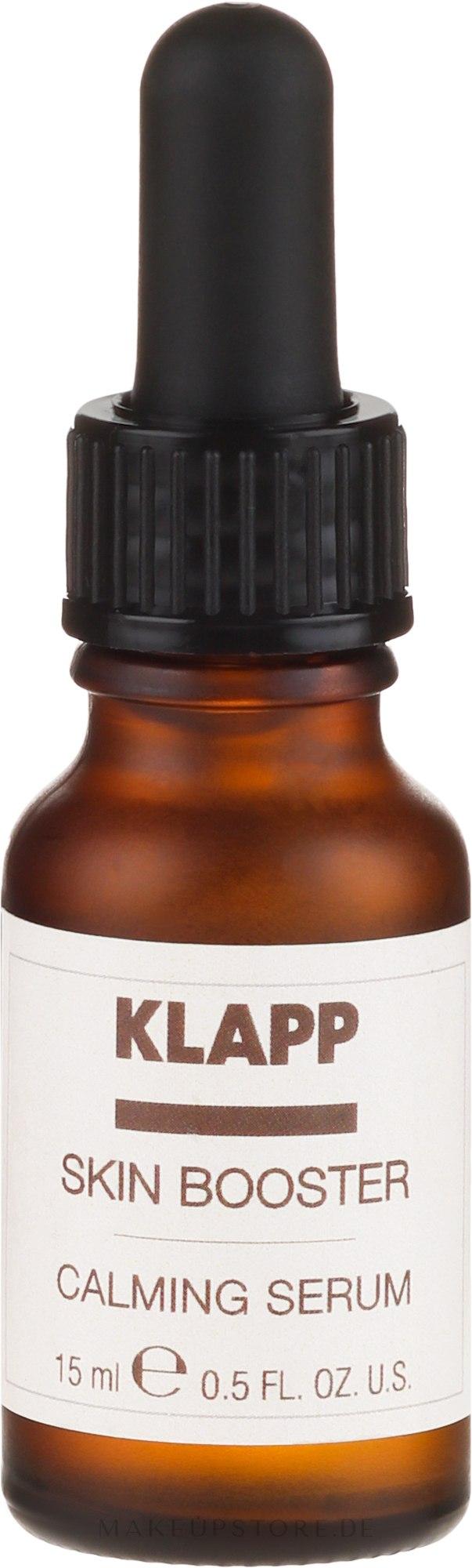 Beruhigendes Gesichtsserum - Klapp Skin Booster Calming Serum — Bild 15 ml