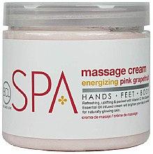 Düfte, Parfümerie und Kosmetik Körpermassagecreme mit erfrischender pink Grapefruit - BCL SPA Energizing Pink Grapefruit Massage Cream