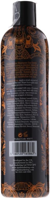 Macadamia-Öl-Extrakt Shampoo - Xpel Marketing Ltd Macadamia Shampoo — Bild N3