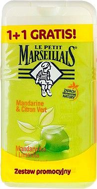 Duschgel Mandarine & Limette Duo-Pack - Le Petit Marseillais (2x250ml) — Bild N1