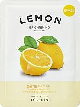 Düfte, Parfümerie und Kosmetik Aufhellende Tuchmaske mit Zitrone - It's Skin The Fresh Mask Sheet Lemon